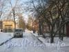 2-я Комсомольская ул., дом 27, корп. 1. Проезд вдоль двора дома. Фото февраль 2012 г.