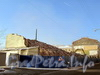 12-я Красноармейская ул., д. 26 (лит. А и Б). Здания мебельной фабрики «Ладога». Демонтаж лицевых корпусов. Фото 10 февраля 2012 г.