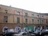 12-я Красноармейская ул., д. 26, лит. Б. Здание мебельной фабрики «Ладога». Фасад лицевого корпуса. Фото октябрь 2010 г.