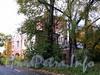 Ремесленная ул., д. 6. Городок Ф. К. Сан-Галли. Водонапорная башня с жилым флигелем. Общий вид. Фото октябрь 2011 г.