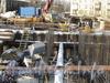 Ул. Александра Матросова, д. 20, лит. В. Строительная площадка жилого дома «Лесная сказка». Фото февраль 2012 г.