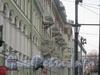 Казанская ул., дом 2. Балконы дома со стороны Казанской пл. Фото февраль 2012 г.