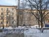 Ул. Коммуны, дом 58. Крыло дома по Ириновскому пр. Вид со двора. Фото февраль 2012 г.
