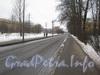 Перспектива Новоовсянниковской ул. от Севастопольской ул. в сторну Баррикадной ул. Фото февраль 2012 г.