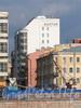 Ул. Смолячкова, д. 5. Здание отеля «Балтия». Вид с Аптекарской набережной. Фото сентябрь 2011 г.