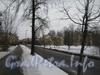 Перспектива ул. Белоусова в сторону пр. Стачек от дома 27. Фото февраль 2012 г.