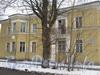 Севастопольская ул., дом 40 / ул. Белоусова, дом 11. Общий вид дома по Севастопольской ул. Фото февраль 2012 г.