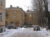 Новоовсянниковская ул., дом 21 / Баррикадная ул., дом 36. . Вид со стороны двора. Фото февраль 2012 г.