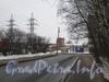 Новоовсянниковская улица от дома 21 в сторону Баррикадной ул. Фото февраль 2012 г.