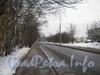 Перспектива Новоовсянниковской ул. от Баррикадной ул. в сторону пр. Стачек. Фото февраль 2012 г.