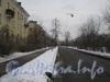 Перспектива ул. Белоусова от Баррикадной ул. в сторону пр. Стачек. Фото февраль 2012 г.