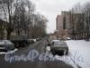 Перспектива ул. Зои Космодемьянской от Баррикадной ул. в сторону пр. Стачек. Фото февраль 2012 г.
