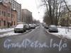 Перспектива ул. Зои Космодемьянской от дома 28 в сторону ул. Баррикадной. Фото февраль 2012 г.