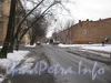 Вид ул. Зои Космодемьянской в сторону пр. Стачек от ул. Губина. Фото февраль 2012 г.
