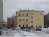 Ул. Зои Космодемьянской, дом 31. Общий вид дома со стороны трамвайного кольца. Фото февраль 2012 г.