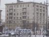 Ул. Фрунзе, дом 10. Общий вид здания со стороны дома 171 по Московскому пр. Фото февраль 2012 г.