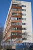 Ул. Добровольцев, дом 38. Общий вид со стороны дома 42. Фото март 2012 г.