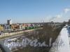 Портовая ул., дом 15, лит. Б. Вид с путепровода пр. Маршала Жукова в сторону района Автово и вид на бизнес-центр. Фото март 2012 г.