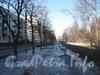 Пешеходная часть чётной стороны ул. Козлова в марте 2012 г.
