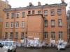 Ул. 5-я Красноармейская, дом 19. Общий вид дома со стороны двора. Фото март 2012 г.