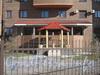 Ул. Лёни Голикова, дом 29 корпус 8. Беседка во дворе. Фото март 2012 г.