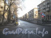 Перспектива улицы Васи Алексеева от ул. Маршала Говорова в сторону ул. Зайцева. Фото март 2012 г.