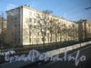 Кронштадтская ул, дом 26. Общий вид жилого дома с путепровода. Фото март 2012 г.
