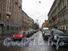 Перспектива 6-ой Красноармейской ул. от Советского пер. в сторону Московского пр. Фото март 2012 г.