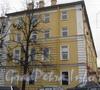 1-я Красноармейская ул., дом 26. Фасад по Советскому переулку. Фото март 2012 г.