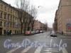 Перспектива 2-й Красноармейской ул. от Советского пер. в сторону Московского пр. Фото март 2012 г.