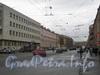 Перспектива 1-й Красноармейской ул. от Советского пер. в сторону Московского пр. Фото март 2012 г.