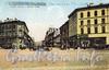 Перспектива улицы Гоголя от Исаакиевской площади в сторону Невского проспекта (слева - дом Шиля, справа - гостиница «Англетер»). (из сборника «Петербург в старых открытках»)