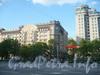 Ул. Типанова, дом 40. Вид от угла пр. Славы и Белградской ул. Фото июнь 2012 г.