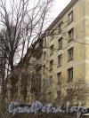 Варшавская ул., дом 41, корп. 1. Фасад жилого дома. Фото апрель 2011 года.