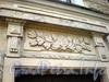 Караванная ул., д. 18/Итальянская ул., 37. Художественное оформление фасада здания. Март 2009 г.