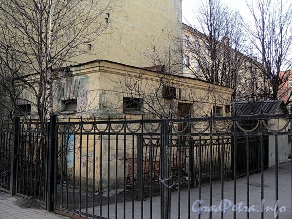 Тульская ул., д. 2а, литера А. Общий вид здания бывшего общественного туалета. Фото апрель 2011 г.