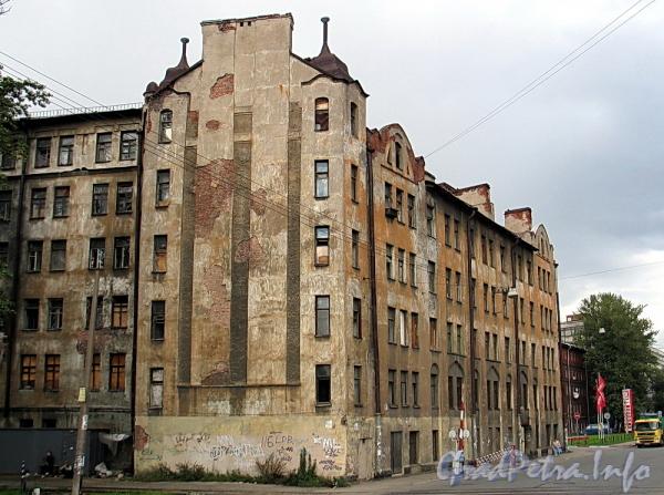 Ул. Розенштейна, д. 39. Фасад по улице Розенштейна. Фото сентябрь 2011 г.