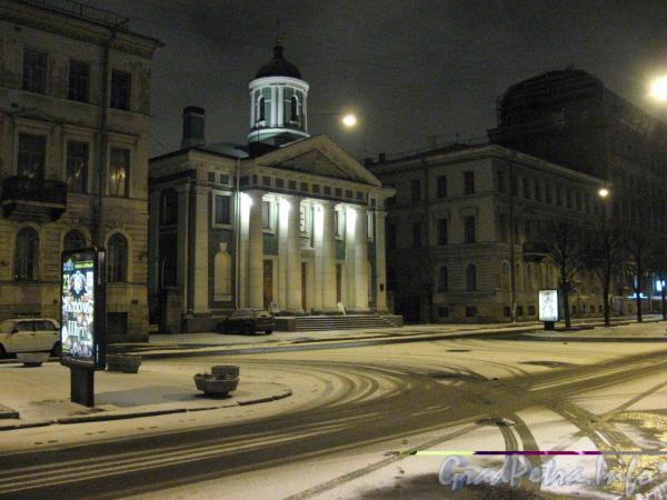 Бол. Конюшенная ул., д. 8А. Финская церковь св. Марии. Фото 2007 г.