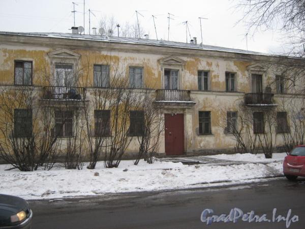 Ул. Зои Космодемьянской, дом 21. Общий вид дома со стороны ул. Зои Космодемьянской. Фото вевраль 2012 г.