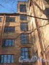 Ул. Харченко, дом 16. Фрагмент фасада. Фото 5 февраля 2013 г.