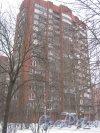 Ул. Киришская, дом 9. Общий вид здания. Фото 30 января 2013 г.