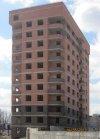 Пос. Металлострой, Садовая улица. Строительство жилого комплекса «Ижора Парк» (I очередь). Фото 6 мая 2013 года.