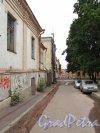 Г. Выборг, перспектива Краснофлотской улицы от дома №6 в сторону улицы Северный Вал. Фото 19 августа 2012 г.