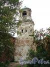 Г. Выборг, Крепостная ул., дом 5а. Часовая башня. Вид со стороны Подгорной улицы. Фото 19 августа 2012 г.
