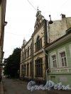 Г. Выборг, Прогонная улица, дом 9. Фасад со стороны Прогонной улицы. Фото 19 августа 2012 г.
