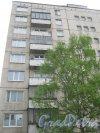 Будапештская ул., дом 108. Общий вид со стороны дома 108, корпус 2. Фото 17 мая 2013 г.