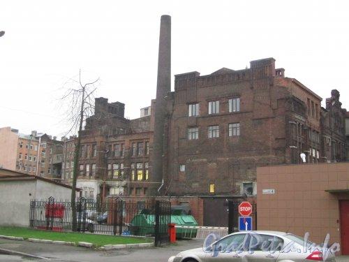 Малая Митрофаньевская улица, дом 4, лит. Л. Вид со стороны Малой Митрофаньевской улицы. Фото ноябрь 2012 года.