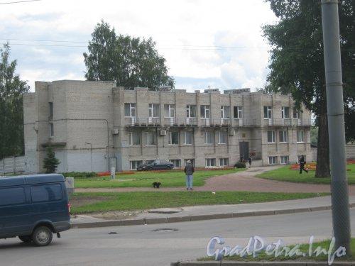 Ул. Академика Байкова, дом 2. Вид с Тихорецкого пр. Фото 22 июля 2012 г.