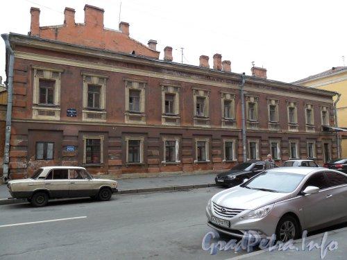 Почтамтская ул., дом 16. Общий вид здания. Фото август 2011 года.