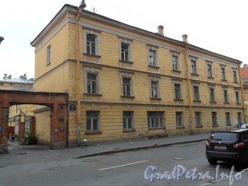 Почтамтская ул., дом 18. Общий вид здания. Фото август 2011 года.